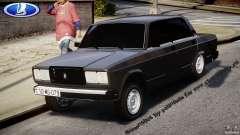 Estilo Avtosh VAZ-2107 para GTA 4