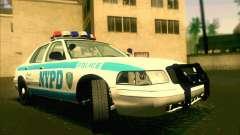 Ford Crown Victoria 2003 NYPD police V2.0 para GTA San Andreas
