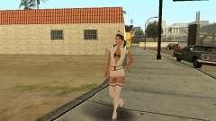 Girlz Medic in Grove para GTA San Andreas
