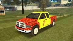 Tej Dodge RAM 2 Fast 2 Furious para GTA San Andreas
