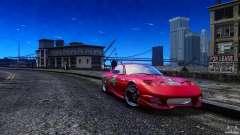 Mazda RX-7 FnF para GTA 4