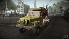 Ural 4320 hormigonera