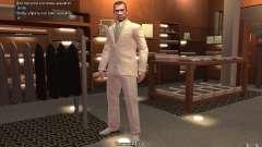 Gran traje gris y blanco para GTA 4