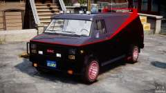 GMC Van G-15 1983 The A-Team para GTA 4