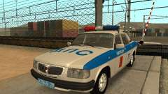 GAZ 3110 policía