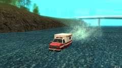 Ambulan boat para GTA San Andreas
