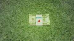 Estados Unidos los billetes en denominaciones de $ 50 para GTA 4