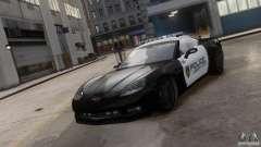 Chevrolet Corvette LCPD Pursuit Unit para GTA 4