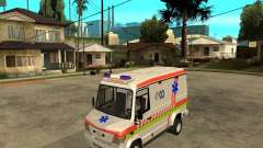 Mercedes-Benz Vario 512 D Ambulamce para GTA San Andreas