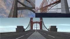 Nuevas texturas de tres puentes en SF