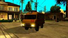 Medical 3962 UAZ para GTA San Andreas
