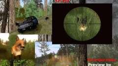 Wild Life Mod 0.1b para GTA San Andreas
