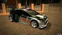 Ford Fiesta Gymkhana Four para GTA San Andreas