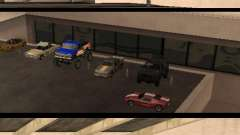 Cars shop in San-Fierro beta para GTA San Andreas