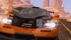 McLaren F1 JGTC Tuning 1995 para GTA San Andreas