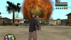 Overdose effects V1.3 para GTA San Andreas