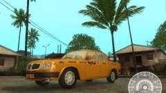 Taxi Volga GAZ 3110 para GTA San Andreas