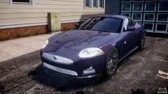 Jaguar XKR-S para GTA 4