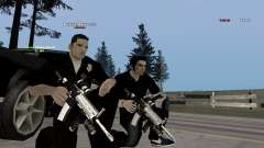 Black & White guns para GTA San Andreas