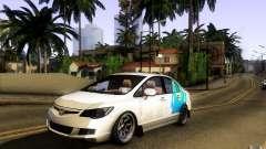 Honda Civic FD BlueKun para GTA San Andreas