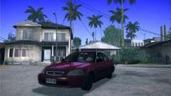 Honda Civic Sedan 1997 para GTA San Andreas