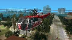 IAR 316B Alouette III SMURD para GTA Vice City