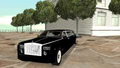Chofer de limusina Rolls-Royce Phantom 2003 para GTA San Andreas