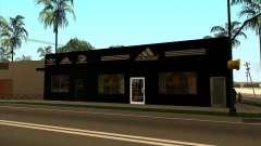 Reemplazo total de la tienda Binco Adidas
