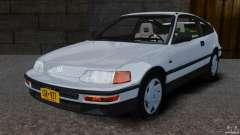 Honda CRX 1991 para GTA 4