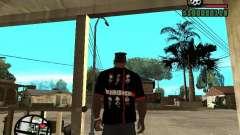 Rammstein camiseta v3 para GTA San Andreas