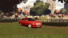 Hatchback LADA priora para GTA 4