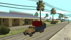 KrAZ-257 para GTA San Andreas