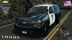 Chevrolet Tahoe Marked Unit [ELS] para GTA 4