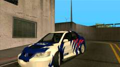 Mitsubishi Lancer Evolution 8 MostWanted para GTA San Andreas