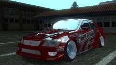 Toyota Altezza Hipermax para GTA San Andreas
