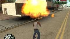 Explosión (versión para portátiles sin teclado numérico) para GTA San Andreas