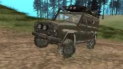 UAZ-31519 de COD MW2 para GTA San Andreas