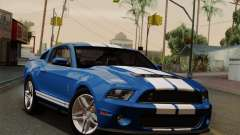 Ford Shelby GT500 2011 para GTA San Andreas