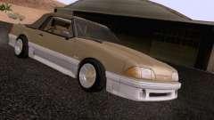 Ford Mustang GT 5.0 Convertible 1987 para GTA San Andreas
