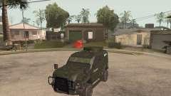 Oshkosh SandCat of Mexican Army para GTA San Andreas