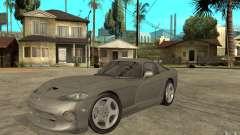 Dodge Viper GTS plata para GTA San Andreas