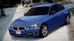 BMW 335i E30 2012 Sport Line v1.0 para GTA 4