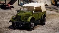 Gaz-69A, 1965 para GTA 4