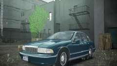 Chevrolet Caprice 1993 Rims 2 para GTA 4