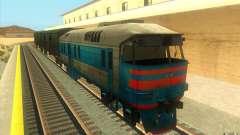 Un tren del juego Half-Life 2 para GTA San Andreas