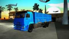 KAMAZ 65117 grano para GTA San Andreas
