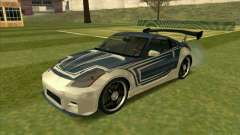 Nissan 350Z Chay from FnF 3 para GTA San Andreas