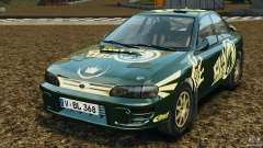 Subaru Impreza WRX STI 1995 Rally version para GTA 4