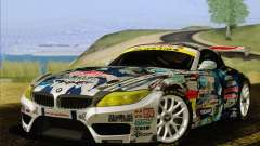 BMW Z4 E89 GT3 2010 Final para GTA San Andreas