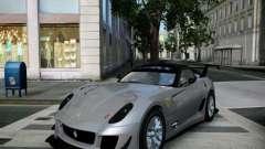 Ferrari 599xx 2012 para GTA 4
